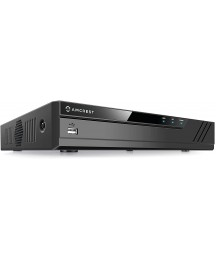 Amcrest 4K 8CH POE NVR (1080p/3MP/4MP/5MP/6MP/8MP/4K) Network Video Recorder, 8-Channel Power Over Ethernet Pre-Installed 4TB Hard Drive (NV4108E-4TB)