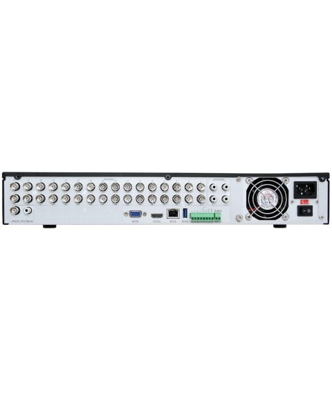 HDView 40CH: 32 Channel TVI/AHD/CVI960H Security DVR Up to 5MP Cameras and 8 Channel NVR Up to 5MP IP ONVIF Cameras, Surge Protection, COC, Commercial Grade, P2P, Smart Intelligent Analytics Search
