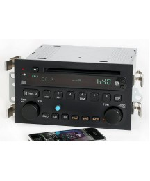 1 Factory Radio AM FM CD Player Upgraded w Bluetooth Compatible with 2003-05 Buick LeSabre 25734854