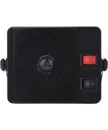 Ichiias External Speaker, Delicate Portable Speaker for Car Mobile Radio, Clear Timbre Compact Compatible with YAESU Two Way Radio