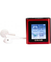 Craig 4GB 2.8-Inch TFT Touch Color Screen MP4/MP3 Video Player(CMP646F)