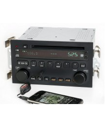 1 Factory Radio AM FM CD Player w Aux Input Compatible with 2003-2005 Buick LeSabre 25734854