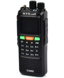 HYS Walkie Talkies Long Range Rechargeable TC-889 10W GPS FRS GMRS Dual Band VHF UHF Amateur Radio Two Way Radio with Programming Cable