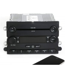1 Factory Radio AM FM 6 Disc CD Player w Bluetooth Compatible with 2007 Ford Expedition 7L1T-18C815-CF