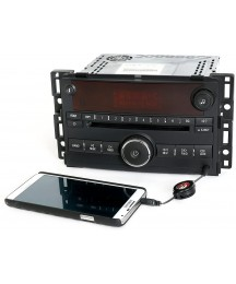 1 Factory Radio CD Player AM FM Auxiliary Input Radio Compatible with 2006-2007 Saturn Ion Vue 15878973