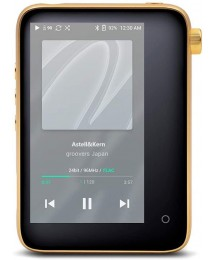 Astell&Kern CT15 High Resolution Music Player,Portable HiFi Player with WiFi Bluetooth,Supports MQA,Aluminum Alloy Body, Full Touch Screen(Golden)